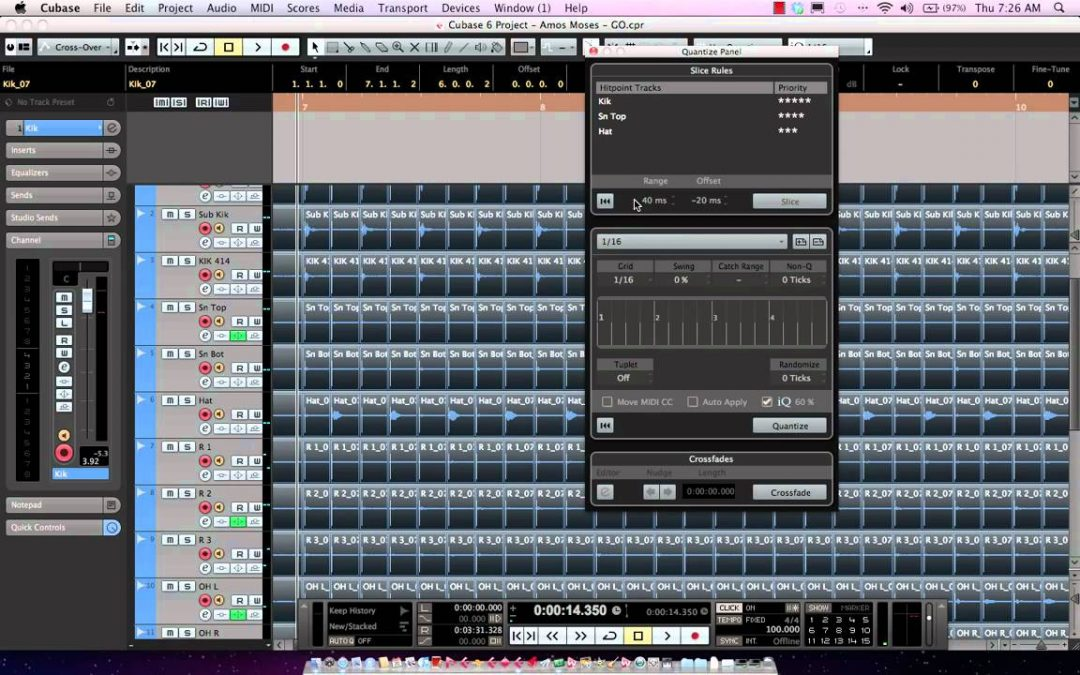 Drum Editing Made Easy With Cubase